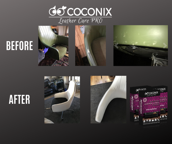 Customer Review - Coconix Professional Leather and Vinyl Repair Kit: SO EASY TO USE!