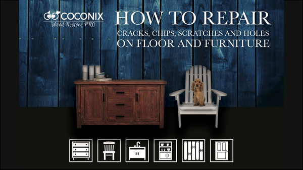 EBOOK: How to Repair Cracks, Chips, Scratches and Holes