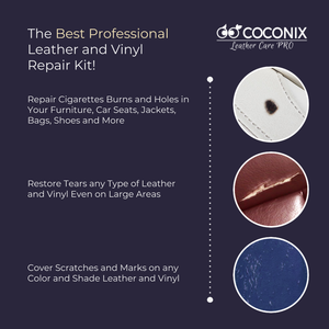 Coconix Black Leather and Vinyl Repair Kit - coconix