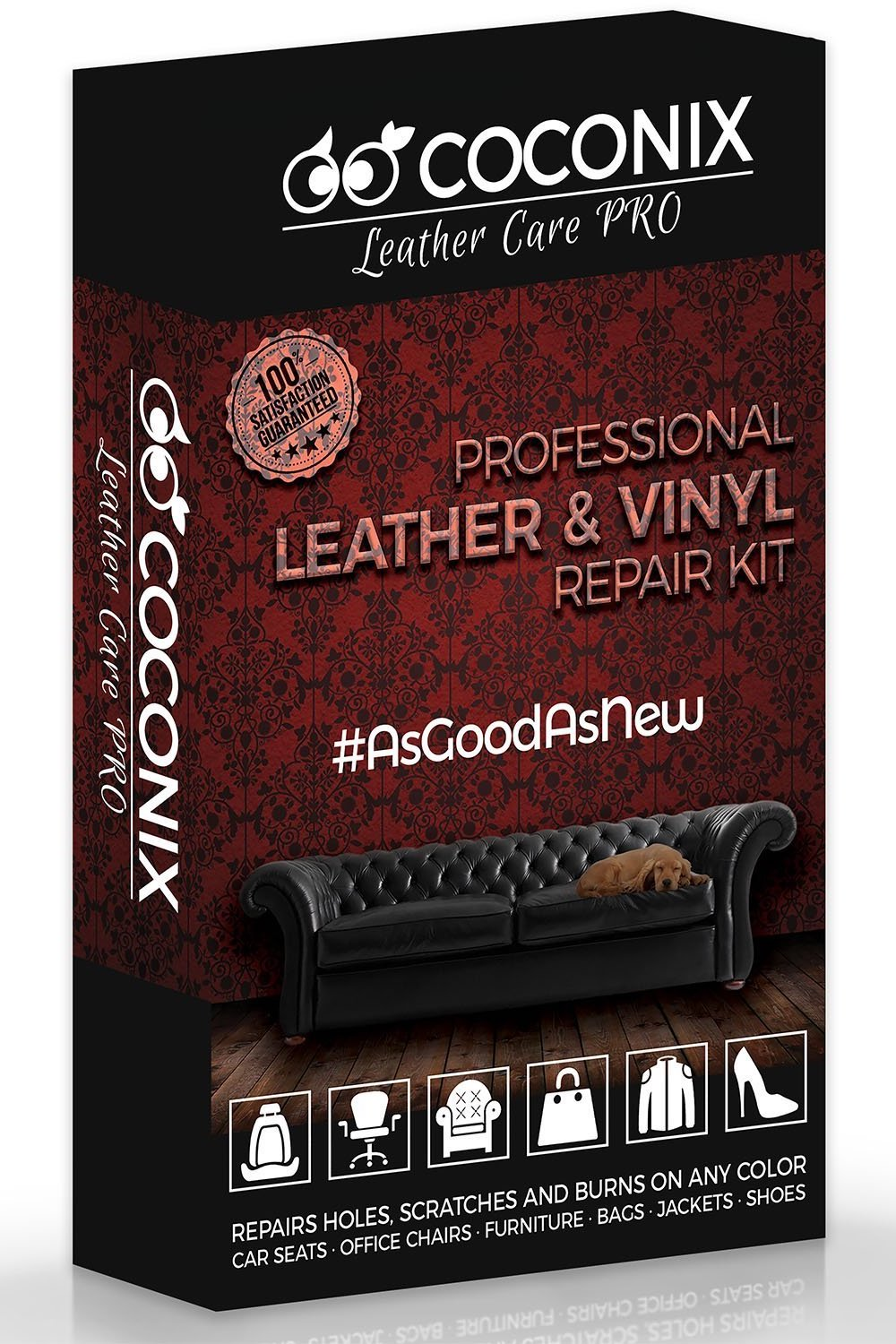 Coconix Mix & Match Leather and Vinyl Repair Kit - coconix