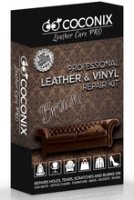 Load image into Gallery viewer, Coconix Middle Brown Leather and Vinyl Repair Kit - coconix