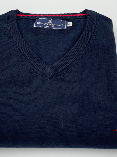 Navy cotton jersey