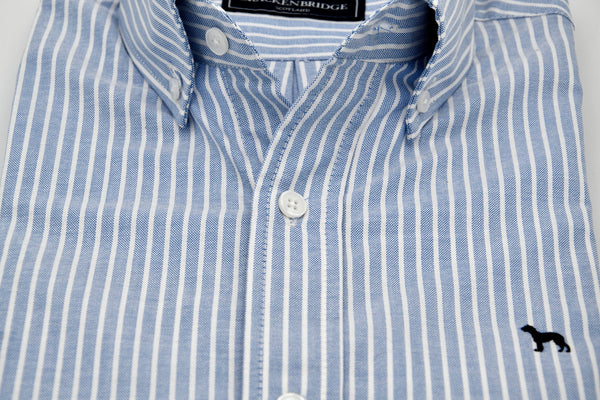 Camisa Oxford azul rayas - Brackenbridge