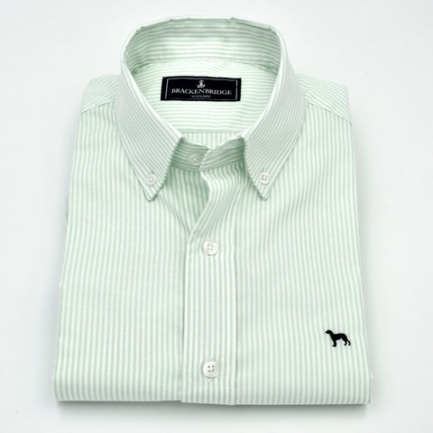 Camisa Oxford raya verde - Brackenbridge