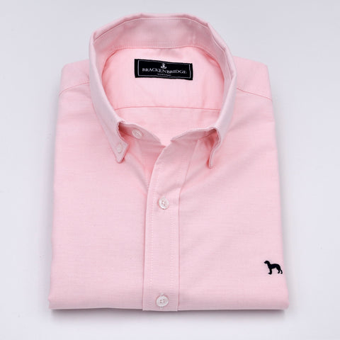 Camisa Oxford lisa rosa - Brackenbridge