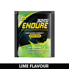 32GI Endure Sachets Lime 50g (Box of 15)