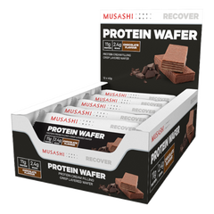 Musashi Protein Wafer Bar Chocolate 40g (Box of 12) (Expire on 29 Aug 2020)