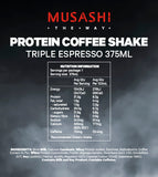 PROTEIN COFFEE Shake 375ml (Box of 6)