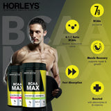 Horleys BCAA MAX Lime 330g (Expiry April 2021)