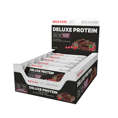 Musashi Deluxe Protein Bar Choc Berry Mudcake 60g (Box of 12) (Expire on 25 Jul 2020)