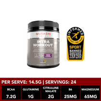 Musashi Intra-Workout Purple Grape 350g