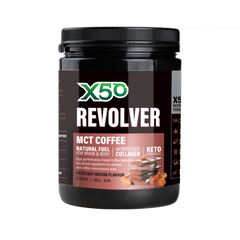 MCT Oil Coffee Flavoured Powder Hazelnut Mocha (400G)