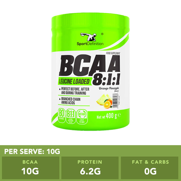Sport Definition BCAA 8:1:1 Orange Pineapple