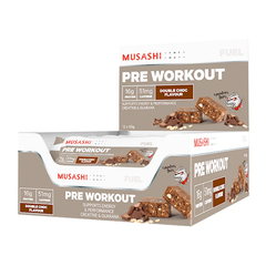 Pre Workout Bars 65g (Box of 12)