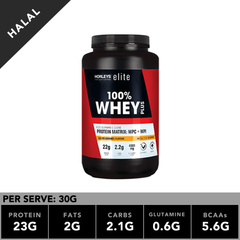 Horleys 100% Whey Plus Salted Caramel 1kg
