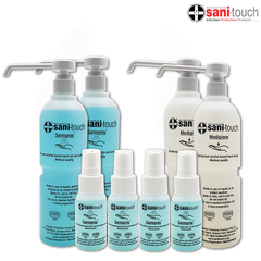 SANI-TOUCH Workplace Sanitizing Bundle (2 x Sanispray 550ml + 2 x Medigiene Gel 550ml + 4 x Sanispray 50ml) (SINGAPORE ONLY)