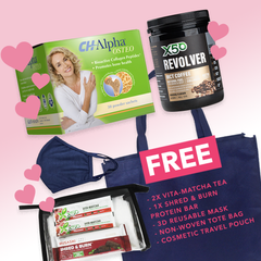 Spoil Mum Kit - Stronger Bones (X50 MCT Oil and Collagen Coffee Original + CH-Alpha Osteo + FREE gifts)