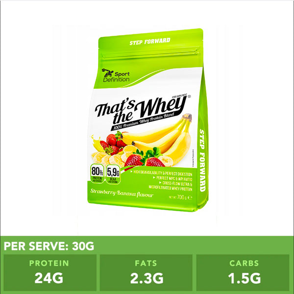 Sport Definition That's The Whey Strawberry Banana 700g