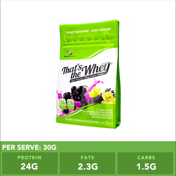 Sport Definition That's The Whey Vanilla Blackcurrant 700g