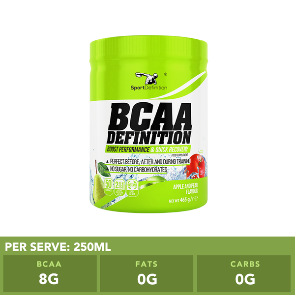 BCAA Definition 2:1:1 Apple Pear
