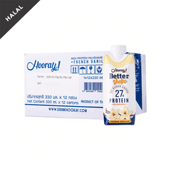 Hooray! Better Shake French Vanilla 330ml (Box of 12)