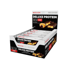 Musashi Deluxe Protein Bar Jam Donut 60g (Box of 12) (Expire on 13 Aug 2020)