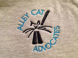 Alley Cat Advocates Embroidered Logo Hoodie District