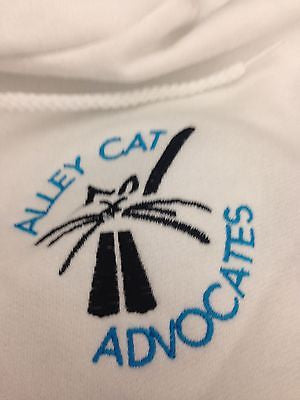 Alley Cat Advocates Embroidered Logo Hoodie Champion