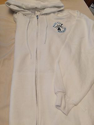 Alley Cat Advocates Embroidered Logo Zip-up Hoodie Port and Company Classic