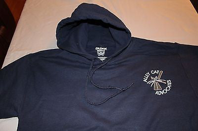 Alley Cat Advocates Logo Hoodie Gildan Dry Blend