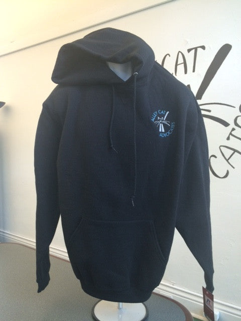 Alley Cat Advocates Embroidered Logo Russell Hoodie