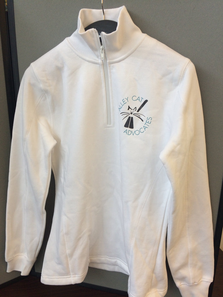 Alley Cat Advocates Ladies Embroidered Logo Half Zip Jacket by Sport Tek