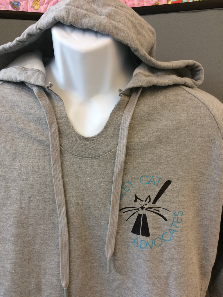 Russell Athletic Soft Hoodie with Alley Cat Advocates Logo