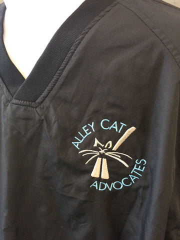 Alley Cat Advocates Embroidered Logo Pullover Jacket by Sport Tek