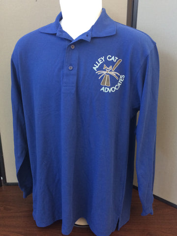 Port Authority Long Sleeve Logo Polo