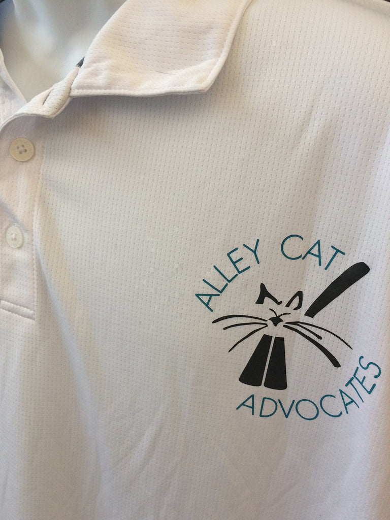 Russell Polo Shirt with Alley Cat Advocates Logo