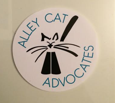 Alley Cat Advocates Window Static Cling