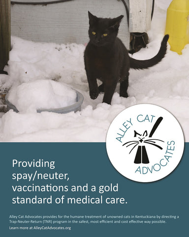 "Alley Cat Advocates 16""x20"" Poster: Providing spay/neuter and a gold standard of medical care."