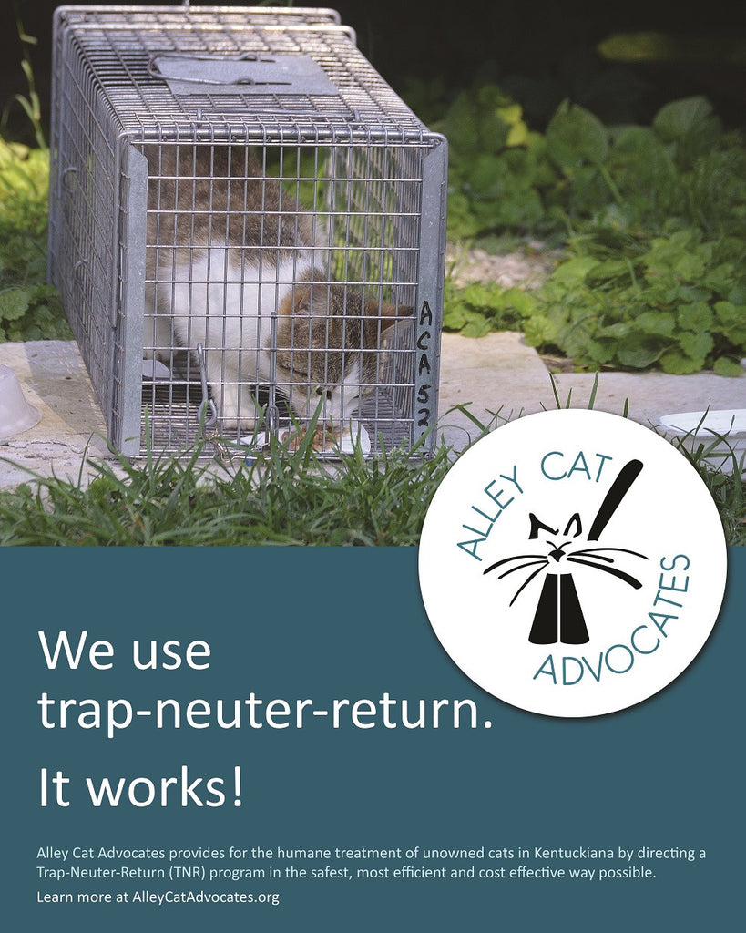 "Alley Cat Advocates 16""x20"" Poster: We use trap-neuter-return, it works!"