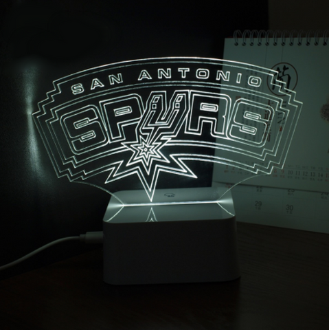 San Antonio Spurs LED Light