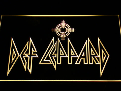 Def Leppard LED Neon Sign