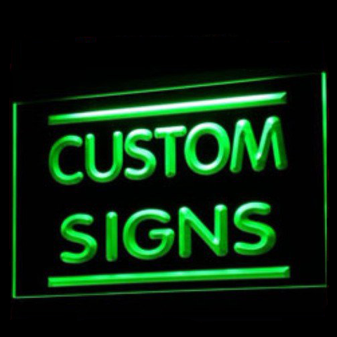 Design your own Night Light LED sign! (NEW)