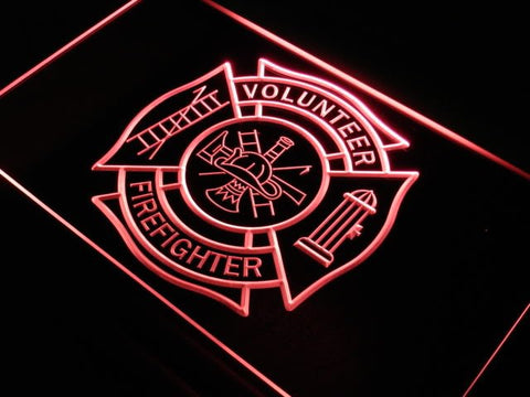 Volunteer Firefighter LED Neon Sign
