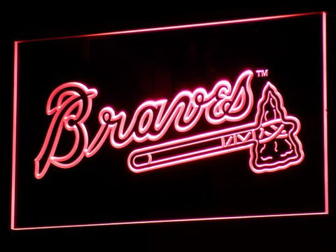 Atlanta Braves LED Neon Sign