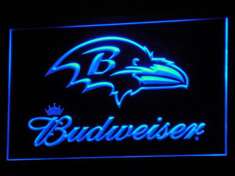 Baltimore Ravens Budweiser LED Neon Sign