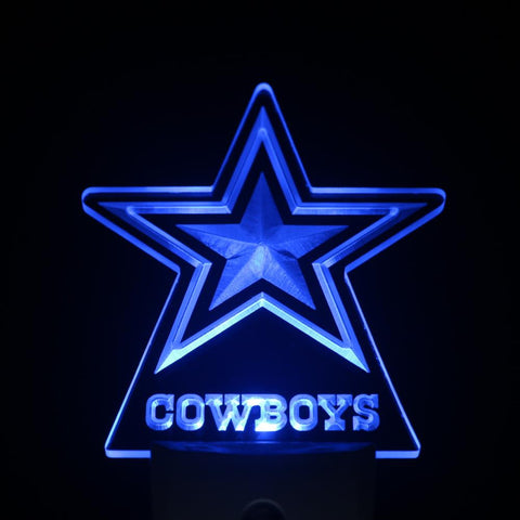 Dallas Cowboys LED Neon Night Light