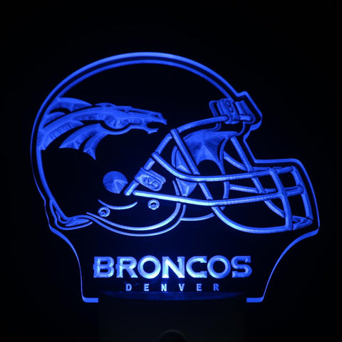 Denver Broncos LED Neon Night Light