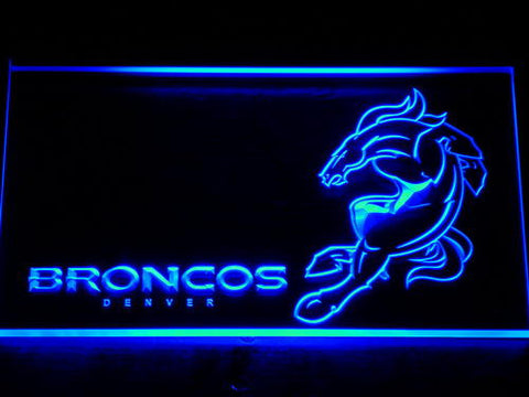 Denver Broncos LED Neon Sign