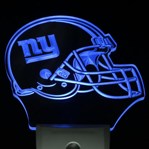 New York Giants Helmet LED Neon Night Light