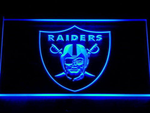 Oakland Raiders LED Neon Sign